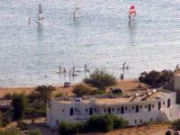andros windserf beach kypri