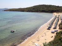 gold beach andros greece