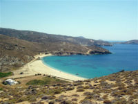 Blixada beach andros greece