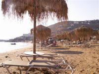 beach kypri andros greece